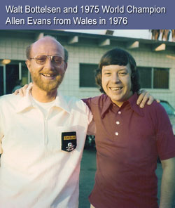 Walt Bottelsen and Allen Evans